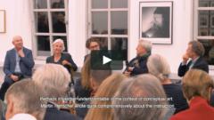 Lebendige Skulpturen - A conversation between Hubertus Butin, Susanne Küper, Moritz Wesseler, Michael Trier and Dieter Schwarz