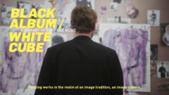 Henning Strassburger | Black Album / White Cube - A journey into art and music, Kunsthal Rotterdam, 2021