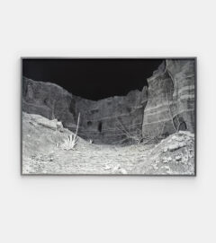 Landscape Painting (Quarry night)