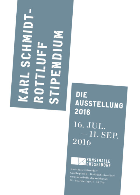 Karl Schmidt-Rottluff Stipendium. Die Ausstellung 2016