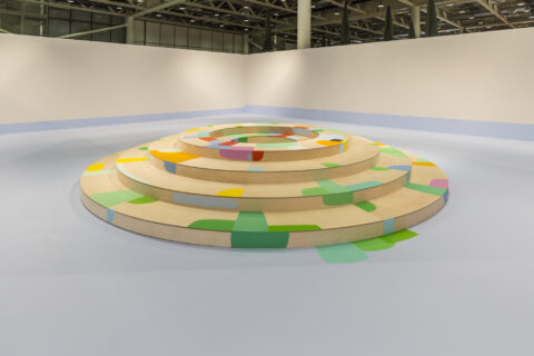 """Landscape with Circles"" at Art Unlimited"