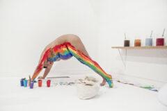 Beber y leer el arcoiris