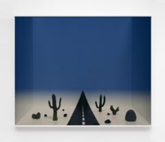Untitled (desert and road)