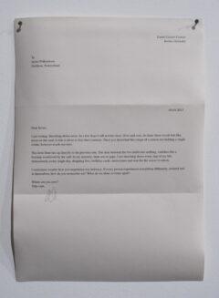 Letter to Javier IV