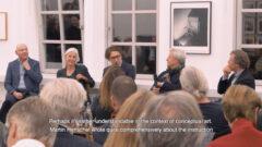 Lebendige Skulpturen – A conversation between Hubertus Butin, Susanne Küper, Moritz Wesseler, Michael Trier and Dieter Schwarz